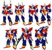 百式系列MS ザンダクロスカラー