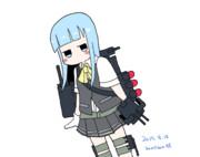 0818 初風(ワンドロ絵)