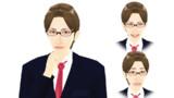 【MMDモデル配布】表情モーフ搭載エキストラ:WEP式HyperI介