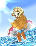 水着リーリエ