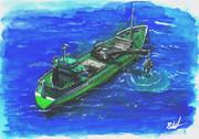 499総トン 二槽型砂利運搬船(ガット船)