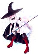 魔女剣士さん