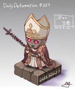 ほぼ毎日デフォルメ#269 深みの主教