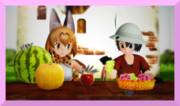 けもフレ 果物が美味しい季節だにゃ
