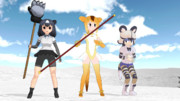 【MMD】EP9.5 hunter in the snow mountain