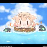 ぷかぷか!ぽいぬちゃん!
