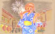 日本豊満化計画・・お祭りって食べるのよね~・・