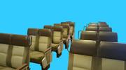 721系電車 座席LBB素材
