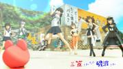 【RAY-GO SEIGA FESTIVAL】楽しい楽しいスイカ(?)割り