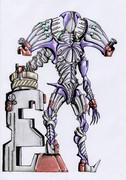 オリジナル怪人/ぬりかべ