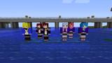 [Minecraft]睦月型前半艦たちのスキン[配布]