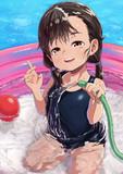 幼女の行水