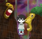 猿を眺めるkofji姉貴