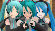 MMD初音ミク御三家