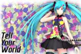 【Blender】OS式初音ミク5 (Tell Your World 服装)