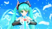 天使の笑み