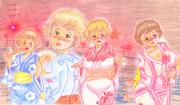日本豊満化計画・・夏の小デブ浴衣祭り・・