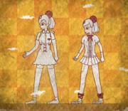 【おまけ壁画】バルコアラとパルコアライさん