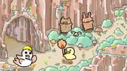 ひよこさんの冒険6!(洞窟!)(^・∞・^)ノ