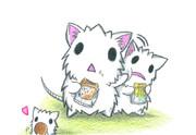 白いネズミ