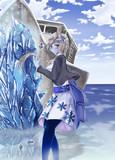 【魔物艦娘のいる鎮守府】千歳×雪女 モンスター化