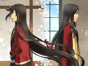 黒髪長髪赤服186cm