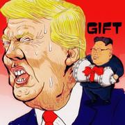 トランプ大統領へ贈り物