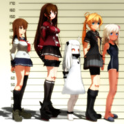 レギュラーメンバーの身長比較