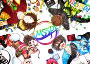 【MSSP】M.S.SProject8周年記念描いてみた