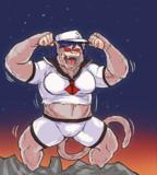 ウッキー☆界最強の猿と化した牛乳