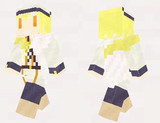 【minecraft】ユリ(花騎士) スキン(サンプル)