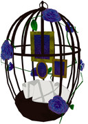 【MMDステージ配布】鳥籠ステージ【終了】