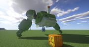 Minecraft」大会用の機体制作中level3「jointblock
