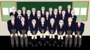 【MMDモデル配布】WEP式エキストラ(全員老人パック)
