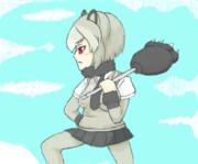 【けものフレンズ】灰色熊