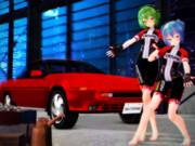 おみあしっ子が ステキな車を披露☆
