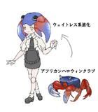 ウェイトレス蟹