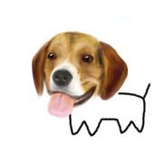 犬を本気で描いてみた