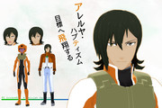 【MMDガンダム00】アレルヤ・ハプティズム【モデル配布】