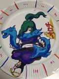 紙皿に妖怪ウォッチのオロチ