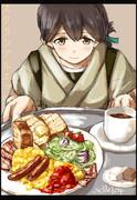 私、洋食も得意なんです。