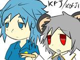 KOFJI plays a mouse, and a kappa