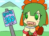 Hina-chan eats a burger / ひなちゃんはバーガーを食べる