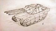 46センチ三連装砲戦車