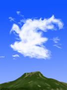 雲って難しい……orz
