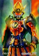 特撮ワンドロ16:カチドキアームズ/仮面ライダー鎧武