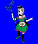 【ZUN絵風】丁礼田舞の踊りBB