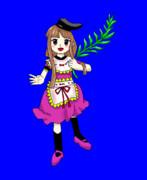 【ZUN絵風】爾子田里乃の踊りBB
