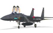 【MMDモデル配布】F-15みんみ