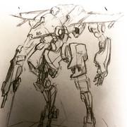 戦闘機ロボット